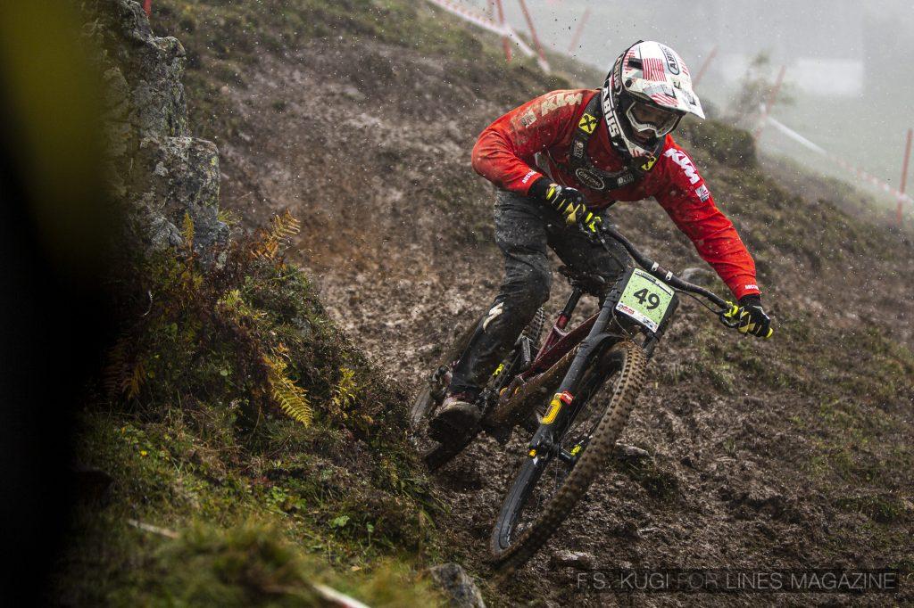 MTB WM Leogang 2020 Downhill Junioren Gabriel Wibmer
