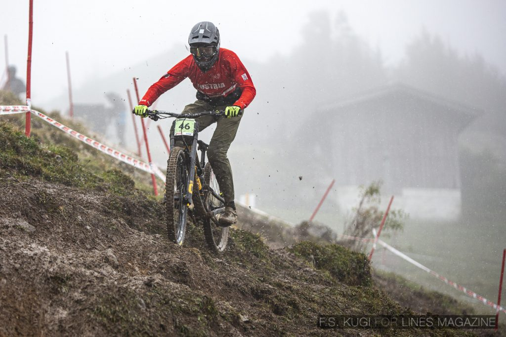 MTB WM Leogang 2020 Downhill Junioren Jonas Göweil