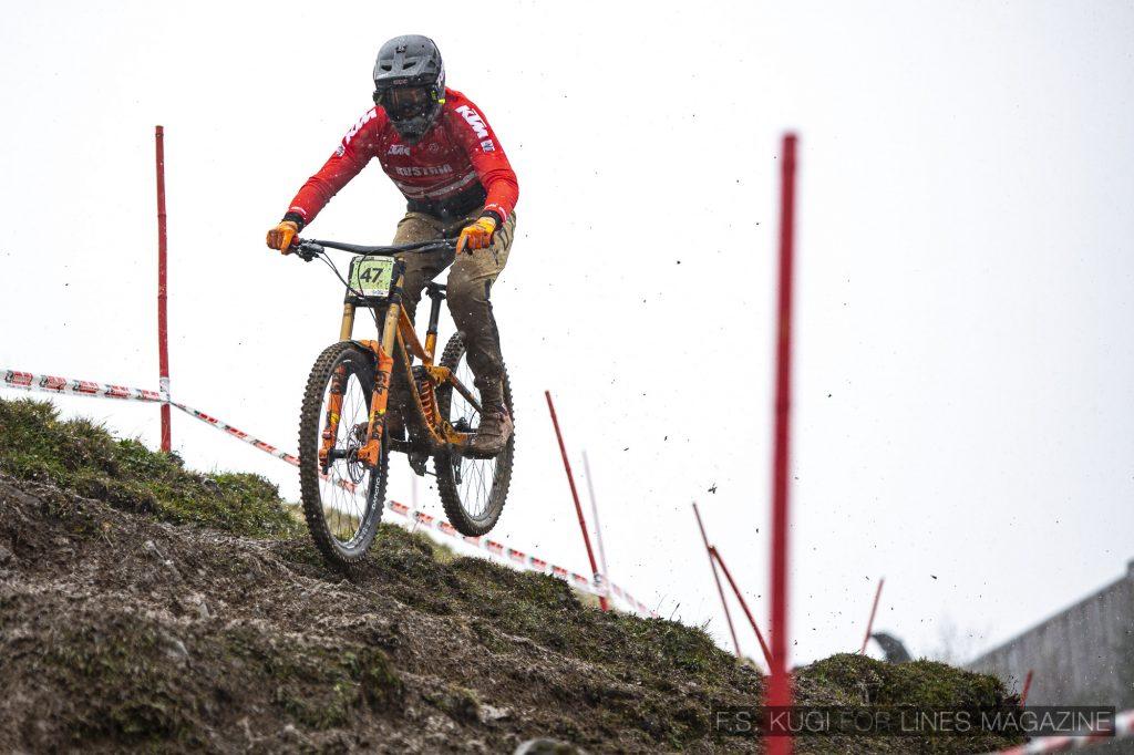 MTB WM Leogang 2020 Downhill Junioren Maximilian Oberhofer