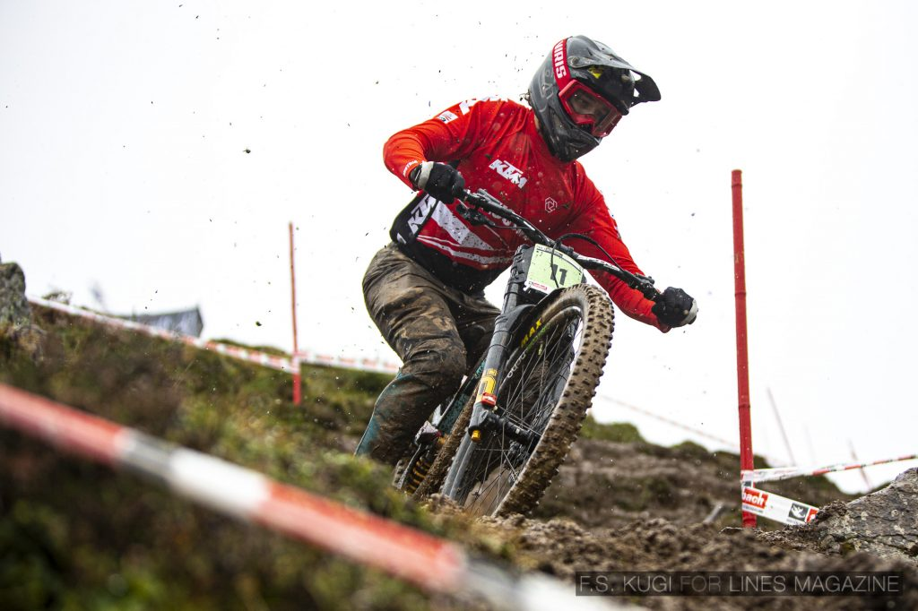MTB WM Leogang 2020 Downhill Junioren Nico Ofner
