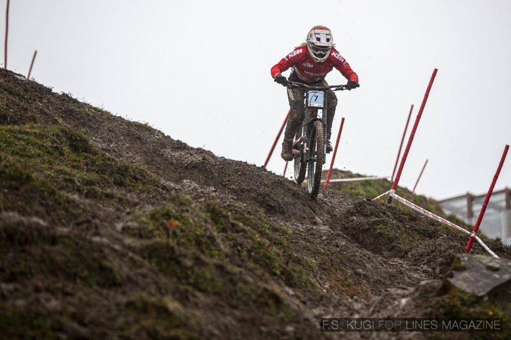 MTB WM Leogang 2020 Downhill Juniorinnen Sophie Gutöhrle
