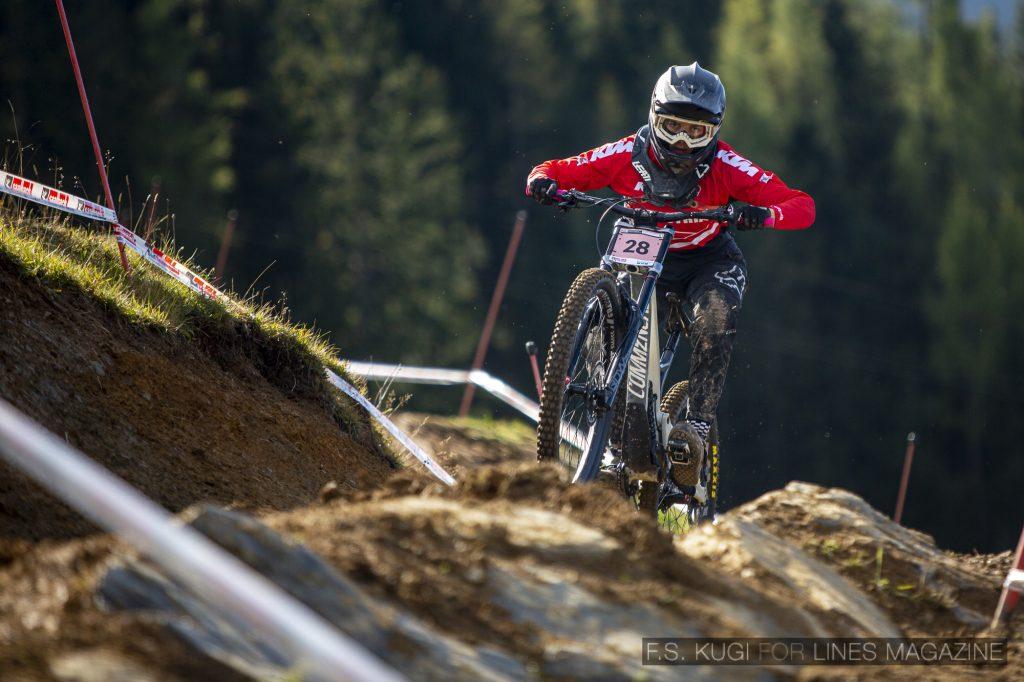 MTB WM Leogang 2020 Downhill Qualifikation Damen Marlena Neissl