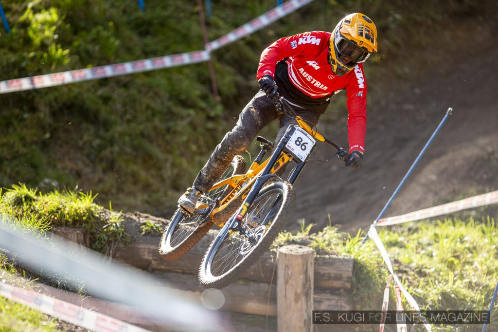 MTB WM Leogang 2020 Downhill Qualifikation Herren Kilian Schnöller