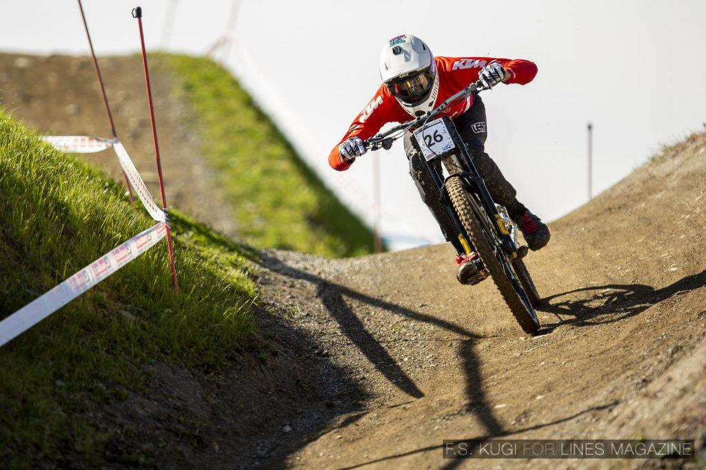 MTB WM Leogang 2020 Downhill Qualifikation Herren Andreas Kolb