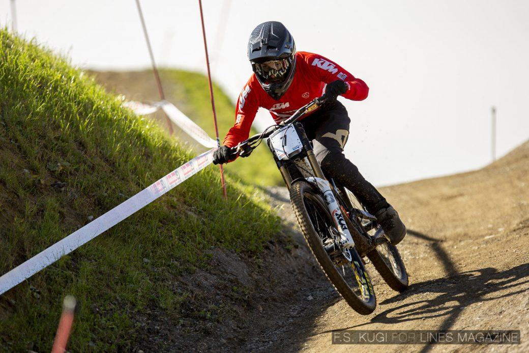 MTB WM Leogang 2020 Downhill Qualifikation Herren David Trummer