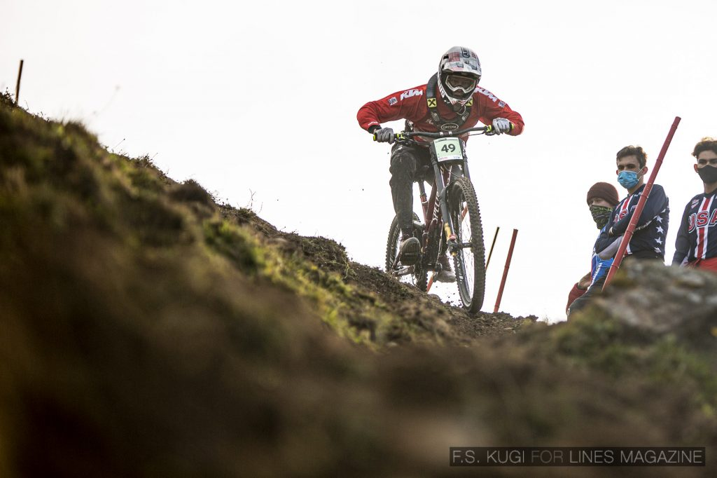 MTB WM Leogang 2020 Downhill Qualifikation Junioren Gabriel Wibmer