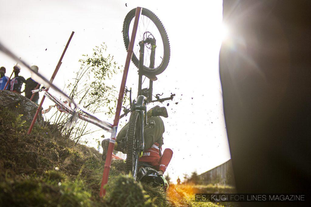 MTB WM Leogang 2020 Downhill Qualifikation Junioren Jonas Göweil
