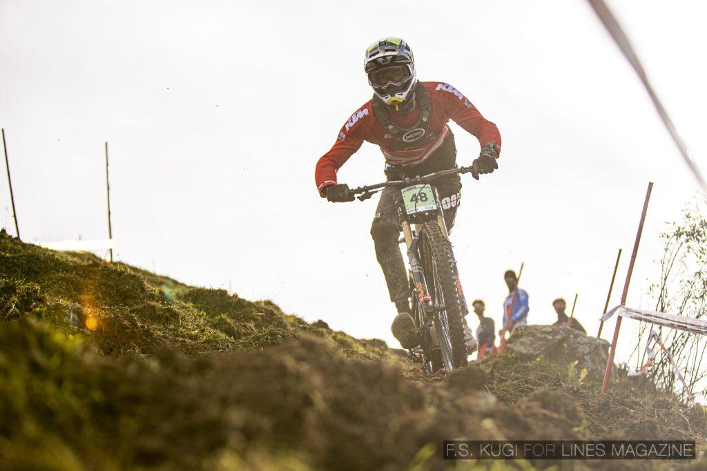 MTB WM Leogang 2020 Downhill Qualifikation Junioren Christof Stulik