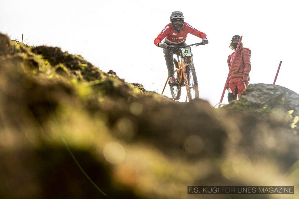 MTB WM Leogang 2020 Downhill Qualifikation Junioren Maximilian Oberhofer