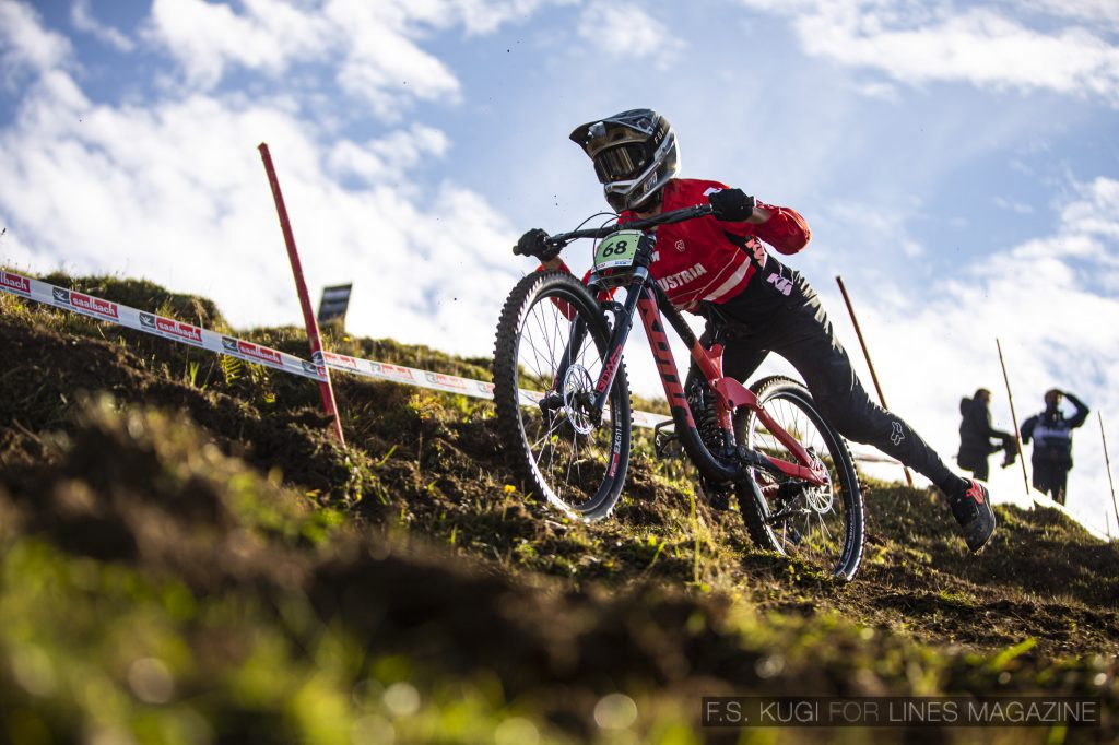 MTB WM Leogang 2020 Downhill Qualifikation Junioren Noah Hofmann
