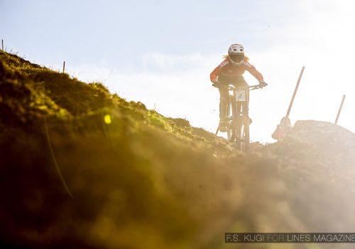 MTB WM Leogang 2020 Downhill Qualifikation Juniorinnen Sophie Gutöhrle