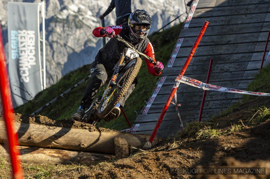 MTB WM Leogang 2020 Downhill Training Herren David Trummer