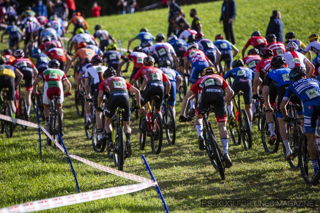 MTB WM Leogang 2020 XC Junioren Start Loop