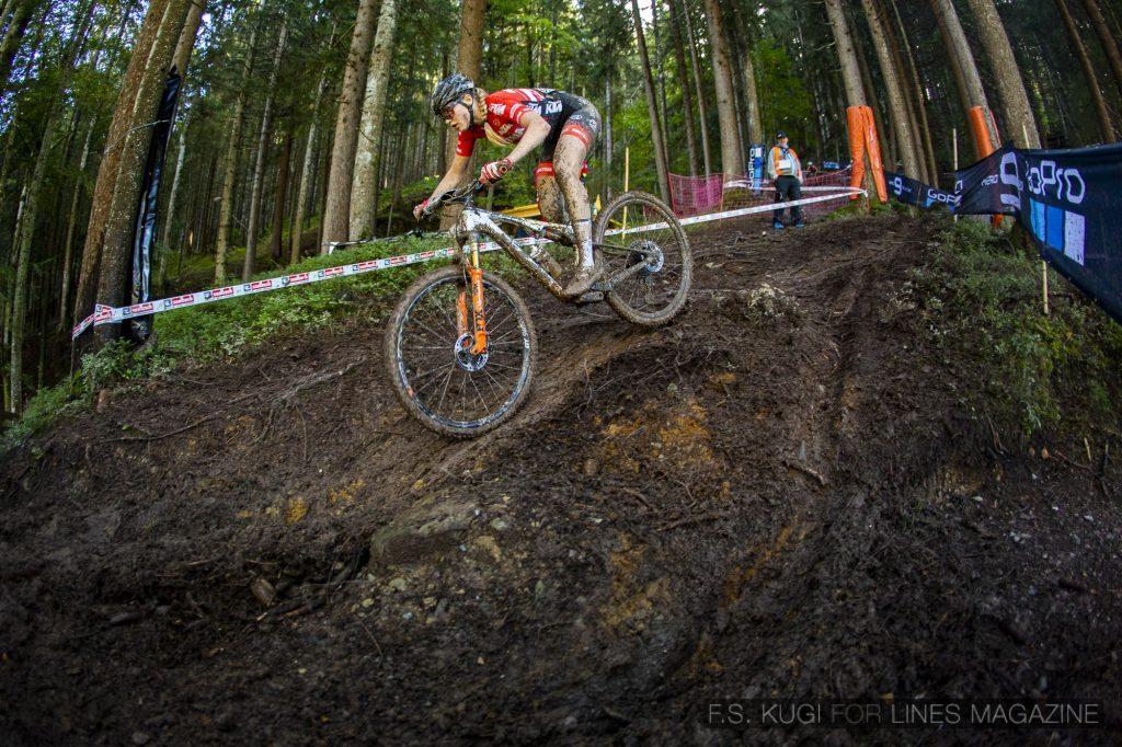 MTB WM Leogang 2020 XC Juniorinnen Katharina Sadnik
