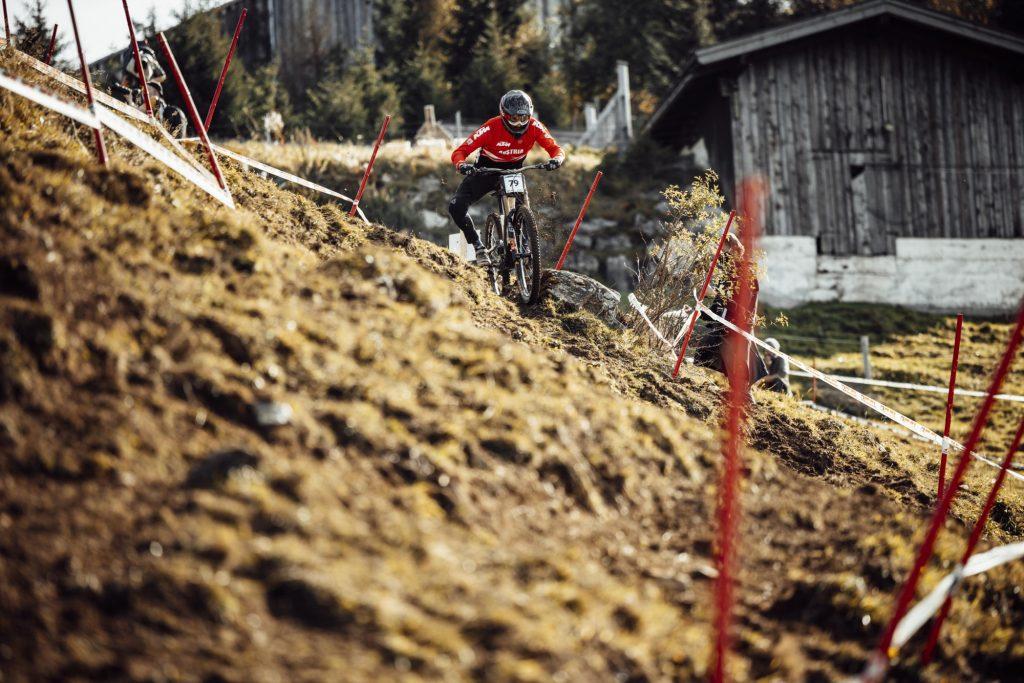 MTB WM Leogang 2020 Downhill Qualifikation Herren Stefan Mauser