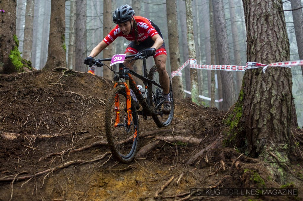 MTB WM Leogang 2020 XCO U23 Damen Corina Druml