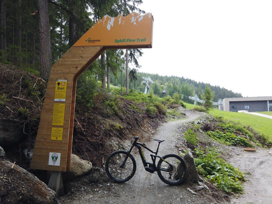 elektroUphill Challenge Uphill Flow Trail Bikepark Schladming Planai