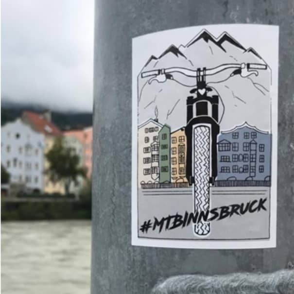MTBInnsbruck Sticker