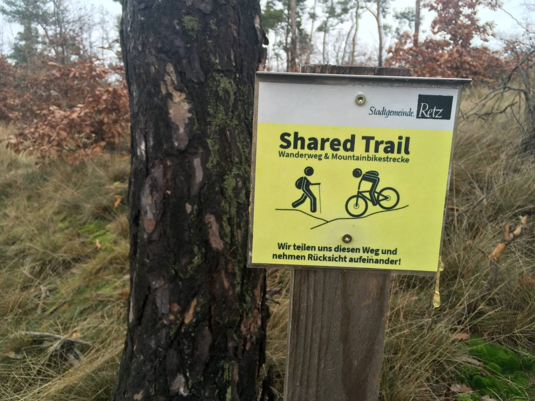 Mountainbike Retz Shared Trail Trailpark