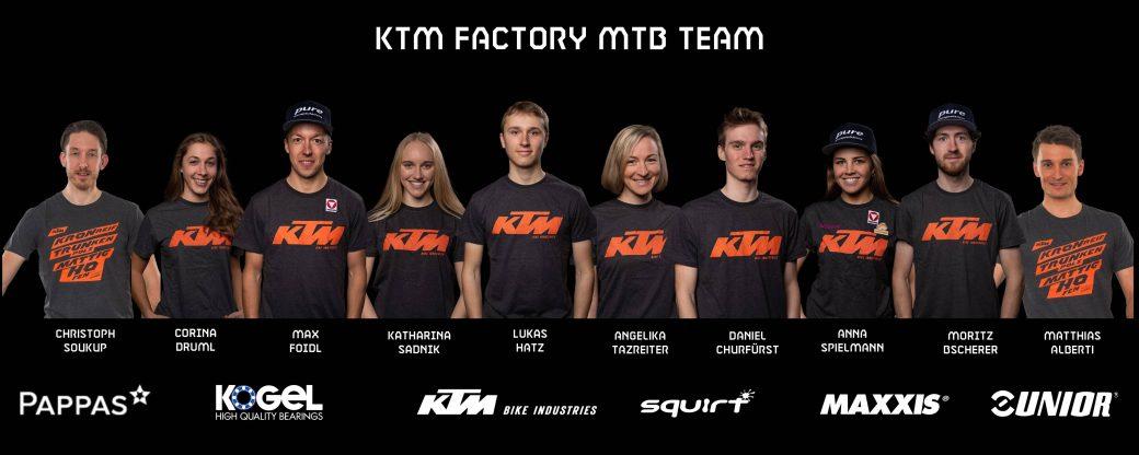 KTM Factory MTB Team 2021