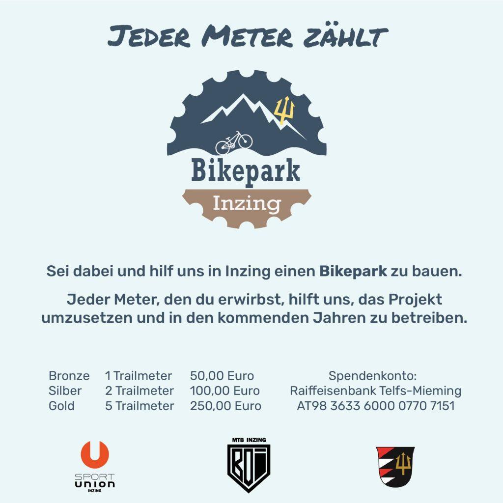 Bikepark Inzing Sacklpark Crowdfunding