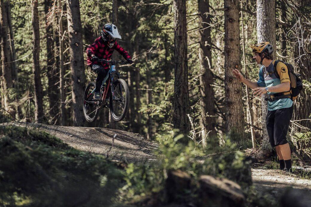 Mountainbike-Schulen Österreich Bike School Pekoll Gerald Rosenkranz Kindertraining