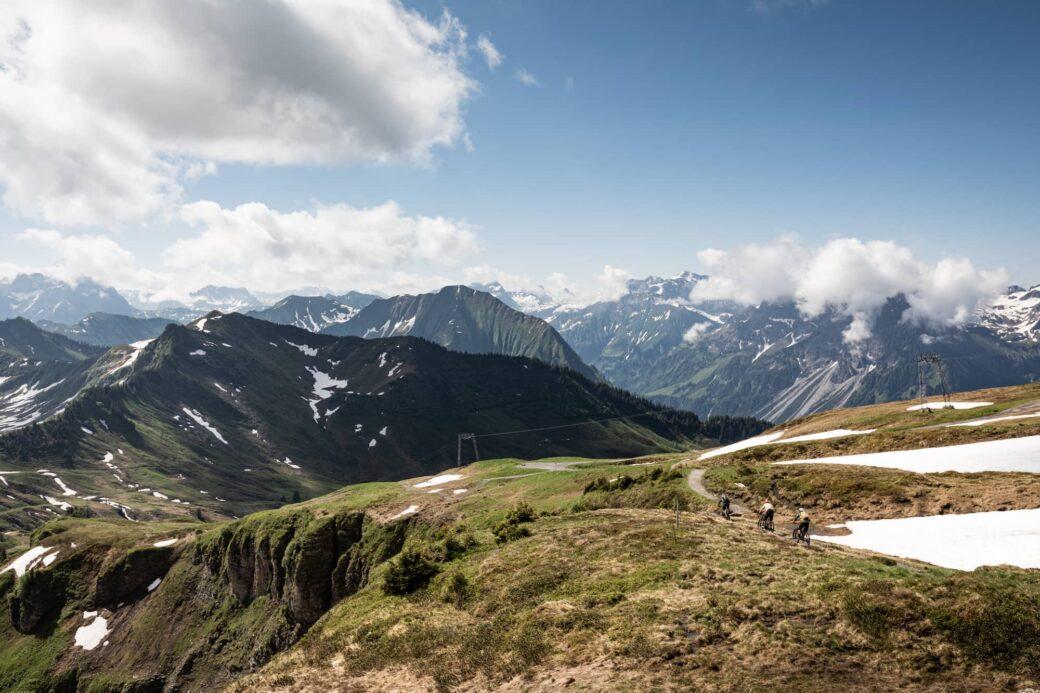 Bregenzerwald Mountainbike Diedamskopf