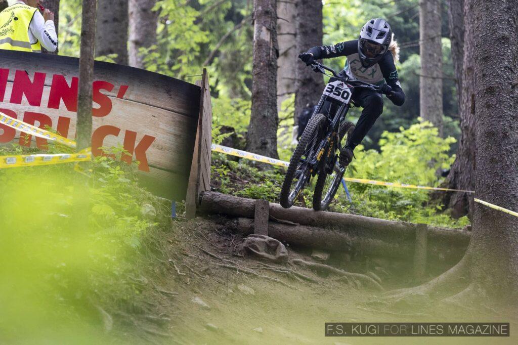 Crankworx Innsbruck 2021 Downhill Sophie Gutöhrle