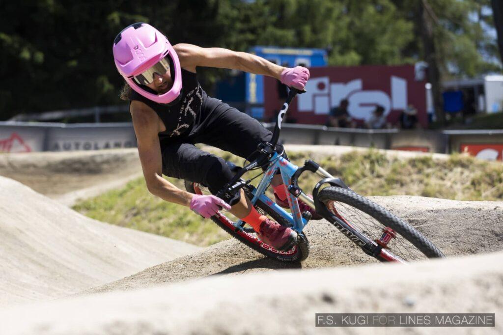 Crankworx Innsbruck 2021 Pumptrack Elke Rabeder