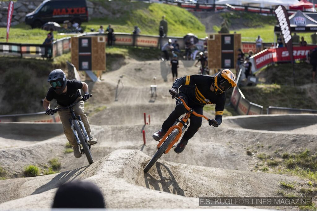 Crankworx Innsbruck 2021 Pumptrack Florian Heinecke