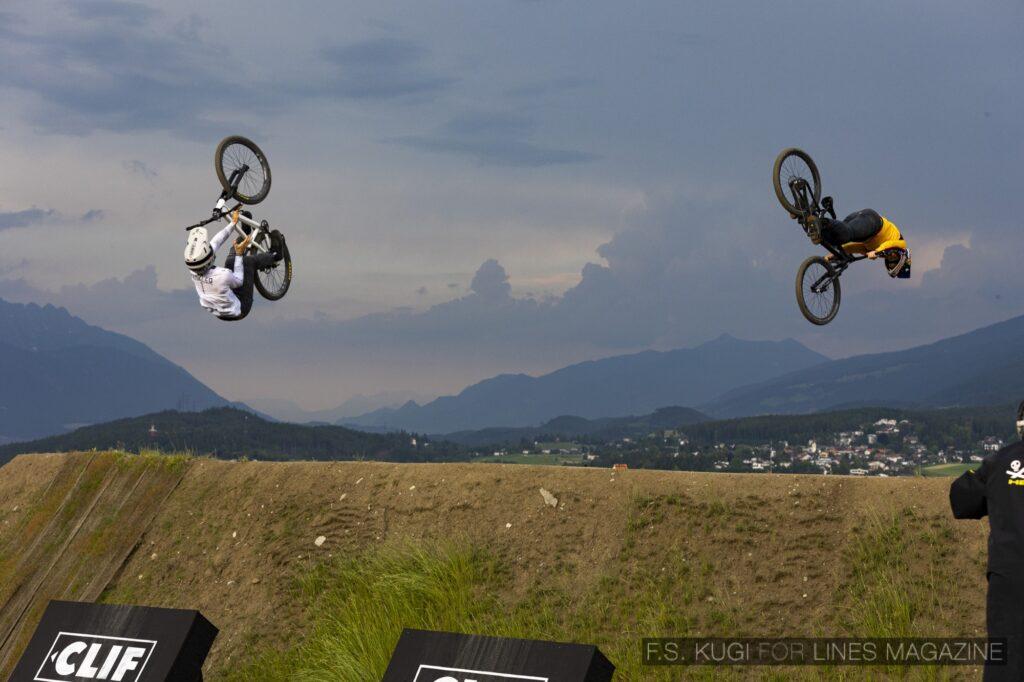 Crankworx Innsbruck 2021 Speed and Style Bernd Winkler Kade Edwards