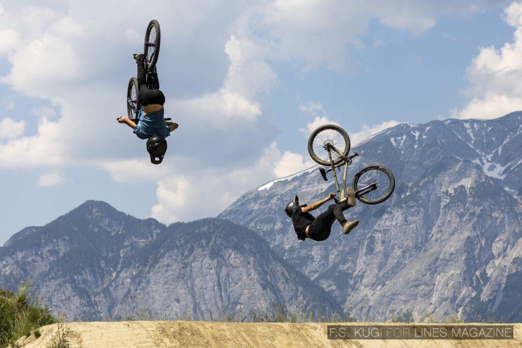 Crankworx Innsbruck 2021 Speed and Style Jackson Goldstone Christoph Schimpl