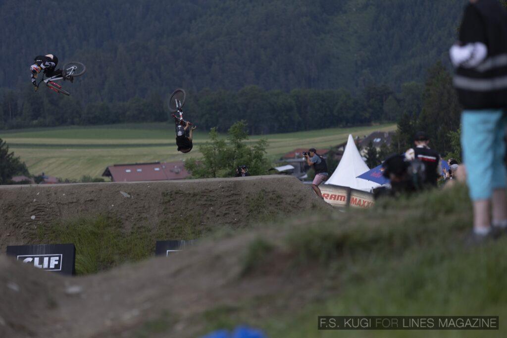 Crankworx Innsbruck 2021 Speed and Style Thomas Genon Peter Kaiser