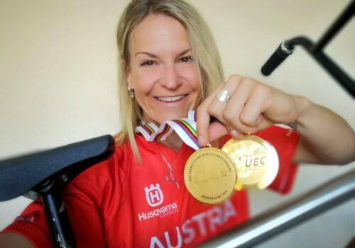 Irina Sadovnik BMX Weltmeisterin Flatland