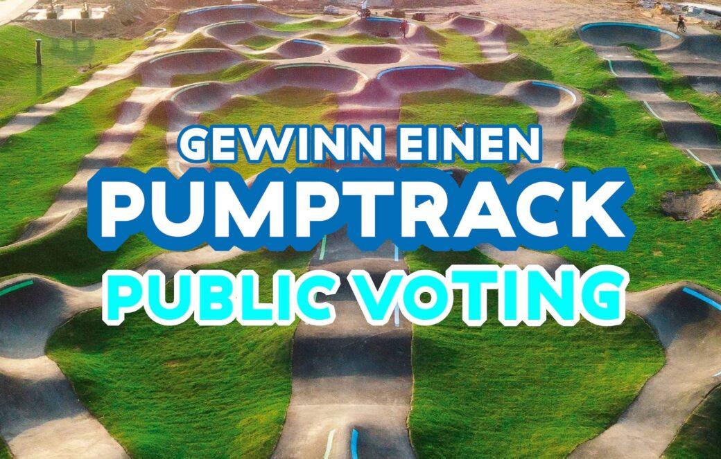 Pumptrack Gewinnspiel Public Voting