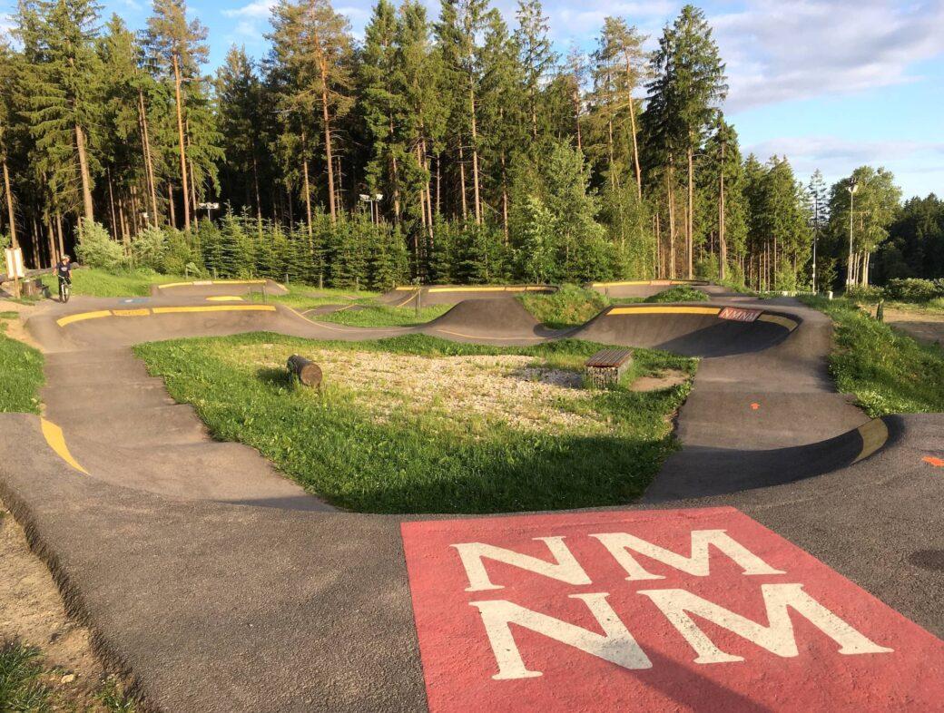 Pumptrack Nove Mesto na Morave Tschechien