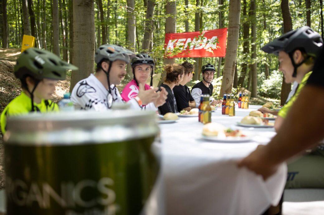 Vienna Trail Brunch 2021 Trailcenter Hohe Wand Wiese Wien