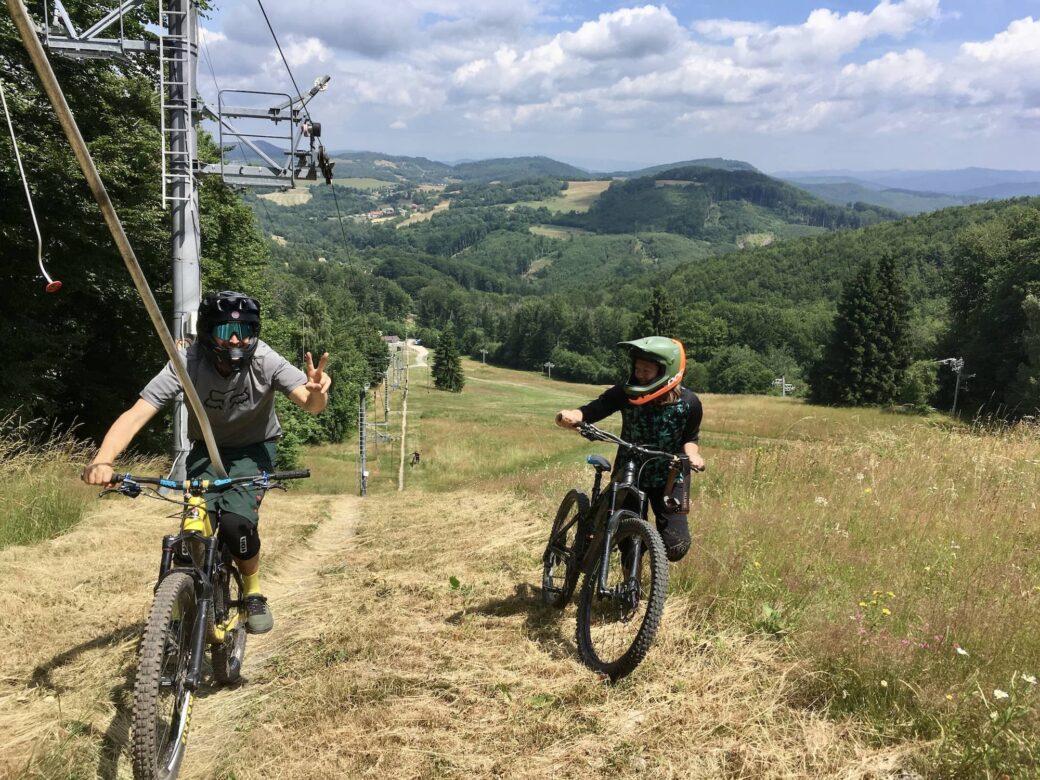 Bike park Drozdovo Slowakei