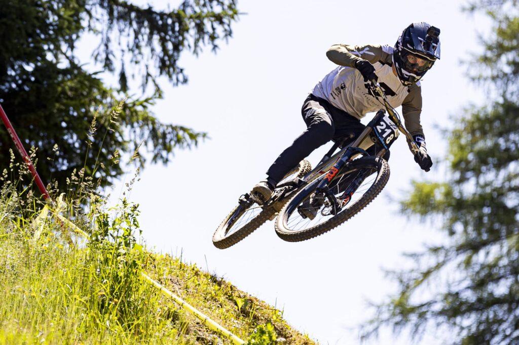 auner Austrian Gravity Series 2021 Bikepark Semmering David Trummer
