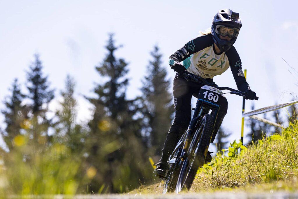 auner Austrian Gravity Series 2021 Bikepark Semmering Sophie Gutöhrle