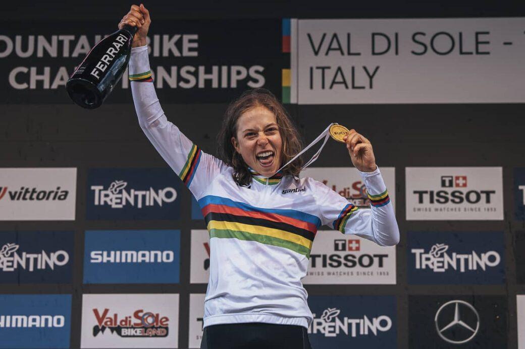 Mona Mitterwallner XCO U23 WM Val di Sole 2021