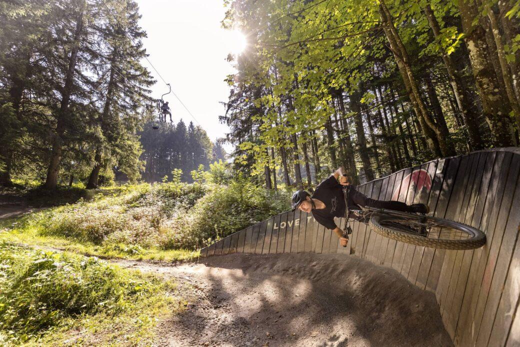 Bikepark Samerberg Deutschland Bayern