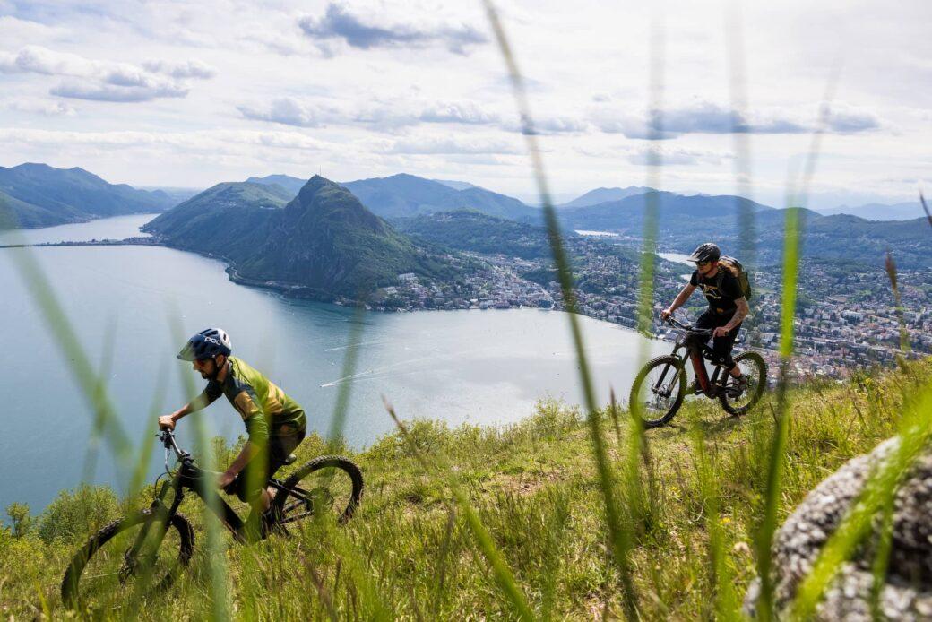 Tessin Ticino Schweiz Mountainbike