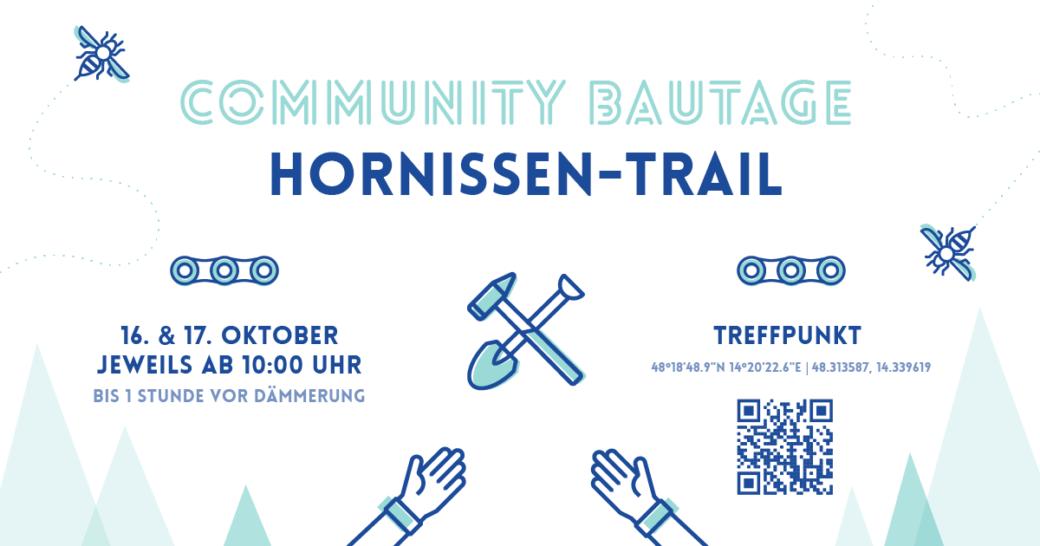 MTB Linz Hornissen-Trail Community-Bautage