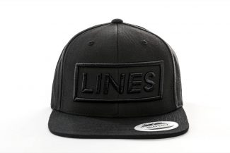 LINES Essential Snapback Black