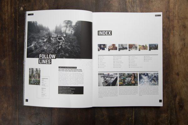 LINES Issue #3 | Inhaltsverzeichnis