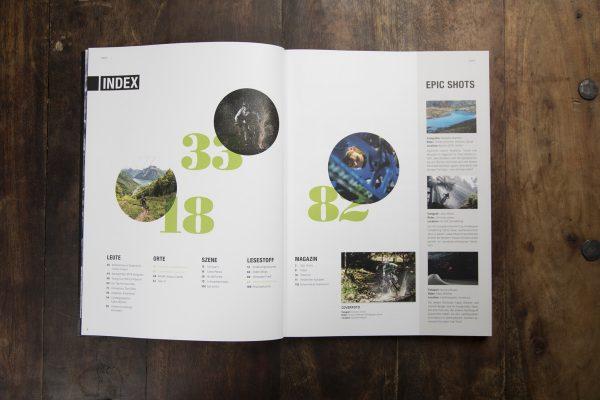 LINES Issue #6 | Inhaltsverzeichnis