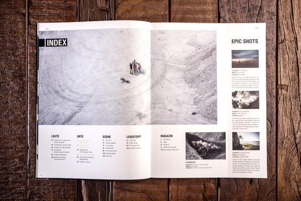 LINES Issue #8 | Inhaltsverzeichnis
