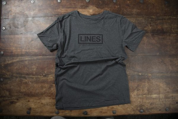 LINES T-Shirt black