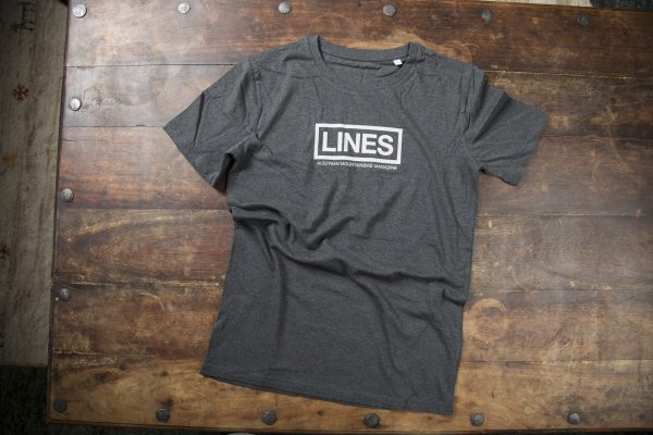 LINES T-Shirt grey